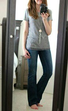 Soft Classic casual. Söta Outfits Med Jeans 3daad359ba5e7