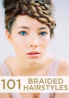 101 braided hairstyles – ways to style your second-day hair!