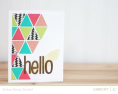 Hello - by Amber Kemp-Gerstel using our Snippets collection