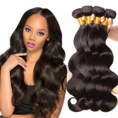 3 Bundles 8A Grade Brazilian Virgin 100% Human Hair Body