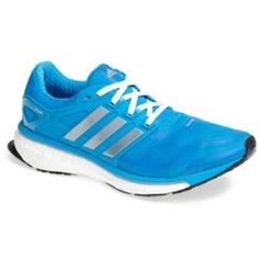 adidas 'Energy Boost 2' Running Shoe (Women) Solar Blue/ Grey/ Metallic 9 M - product - Product Review