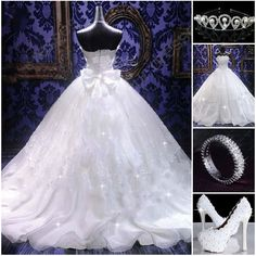 Awesome Wedding  Dresses Find More---> http://www.imaddictedtoyou.com/