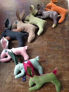 it's not like rabbits are the only species that multiply but they seem to have made a name for themselves, including in our shop. Fabric Scraps, Rabbits, Euro, Stuff To Do, Dinosaur Stuffed Animal, Shop, How To Make, Home Decor, Homemade Home Decor