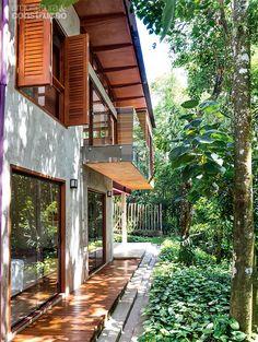 Casa simples de manter e acessível para moradores da 3ª idade - Casa