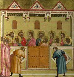 Сошествие Святого Духа на апостолов (Пятидесятница). Джотто ди Бондоне