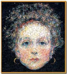 If I'm reading the website correctly, mosaic artists Evelina Della Vedova and Valter Solari recreate the works of Gustav Klimt in tile. I think this one is pretty awesome! Tile Art, Mosaic Art, Mosaic Glass, Glass Art, Stained Glass, Gustav Klimt, Mosaic Portrait, Mosaic Madness, Mosaic Crafts
