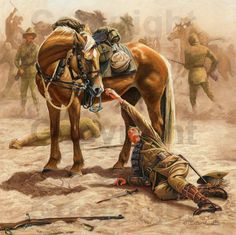 Gallery of Light Horse Art provides the largest collection of paintings and fine art prints of the Australian Light Horse at very affordable prices. Ww1 Art, Anzac Day, Cowboy Art, World War One, Equine Art, Military Art, Horse Art, The Great, Art Gallery