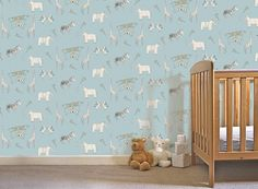 Merry Go Circus Wallpaper for your Baby's Nursery - Best Baby Sites - Crafting Childhood Memories : Ideas and Inspiration