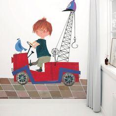 Wallpaper Stories | Rode vrachtwagen 1