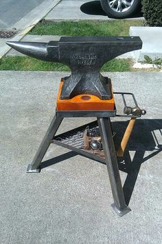Anvil with stand