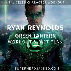 Ryan Reynolds Deadpool Workout Routine – How to get ripped like Deadpool and Green Lantern Muscle Fitness, Gain Muscle, Muscle Men, Build Muscle, Fitness Diet, Mens Fitness, Workout Diet Plan, Workout Routine For Men, Workout Men