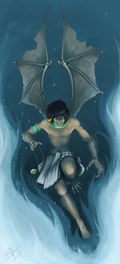 :: Bartimaeus :: Metamorphose :: by JoshuaTheAsmodian.deviantart.com on @DeviantArt