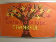 Thankful Tree Bulletin Board | Tattoos Design Gallery