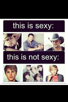 thank god finally someone understands! sorry justin beaver your GAY! now on the other hand these country singers are hot i aint afraid to say anything different. Country Men, Country Girls, Country Music, Country Singers, Country Strong, Country Artists, Country Style, Country Bumpkin, Country Lyrics