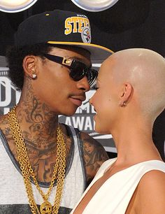 Wiz and Amber <3 love them together