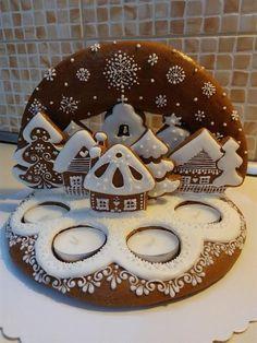 Skupina - Pečieme medovničky a perníky Christmas Goodies, Christmas Treats, Christmas Gingerbread, Gingerbread Cookies, Advent, Cookie House, Best Sugar Cookies, Biscuits, Xmas Food