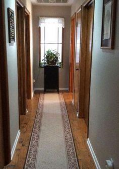У меня в квартире был темный коридор, пока я не увидела эту идею… Потрясающе!