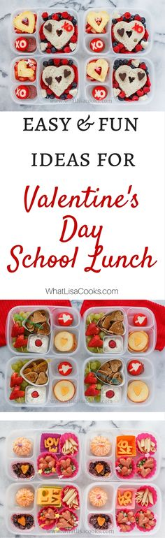 Thinking about trying some of these - easy ideas for making Valentine's Day…