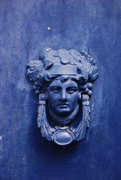 Blue door Spetses