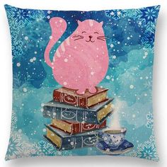 Book Nerd Throw Pillow Covers – Book Quote Decor