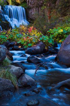 McCloud River Falls California.