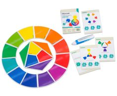 Für den #Lesestift #Tellimero: Farbenquiz - Für Freiarbeitsstunden oder schnelle Schüler Hier wird das Thema Farbenlehre spielerisch in drei Schwierigkeitsstufen abgefragt. Die Quizkarten können allein oder auch in der Gruppe gelöst werden. #Farben #Betzold Quiz, Paper, Color Theory, Kids Hands, Teaching Ideas, Alone, Group, Art Education Resources, Cards