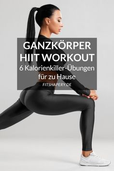 HIIT training at home – the 6 best exercises [mit Trainingsplan] – Gesundes Fitness Workouts, Yoga Fitness, Fitness Motivation, Short Workouts, Sport Fitness, At Home Workouts, Health Fitness, Quotes Fitness, Insanity Workout