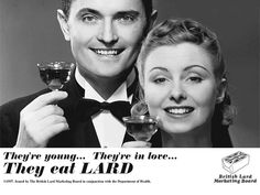 Somehow, you are not likely to see this ad these days...