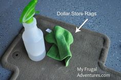 DIY Spot Carpet Cleaner {perfect for cars!} - My Frugal Adventures