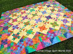Canton Village Quilt Works | Batik Inspiration