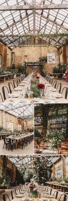 Wooden beams, exposed brick, & lush ivy | The Visual Partners