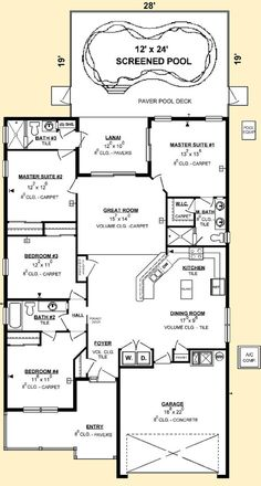 Luxury House Plans With Two Master Suites example plan