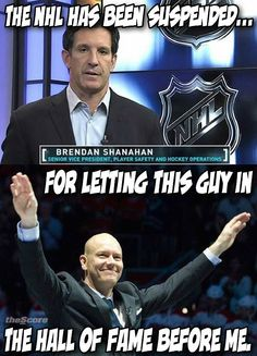 BREAKING: Brendan Shanahan is throwing out suspensions already… LOVE THIS!!!!