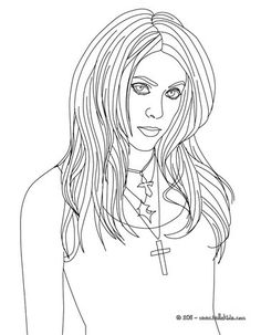Shakira Singer Coloring Page Color In This And Others With Our Library Of Online Pages