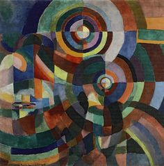 Sonia Delaunay, Electric Prisms, 1914