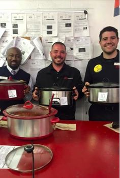 6th Annual Employee Chili Cook-Off took place today at Kia AutoSport! Congrats to this years winners Demarcus Akins, John Cray, and Tim Campion!