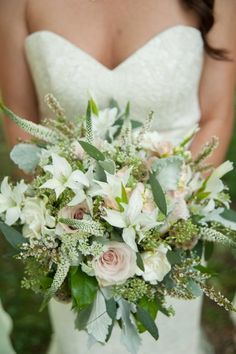 whimsical bridal bouquet {photo credit: Ace Photography} #weddings