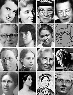 Women in Science - A Selection of 16 Significant Contributors, from The San Diego Supercomputer Center of USD La Jolla. Bios of 16 distinguished women scientists from the 1800s until now. Also includes mathematics, statistics, computers, and management. Good source material here. Going in History > Women's History