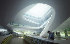Green Climate Fund Headquarters / LAVA,library - © MIR