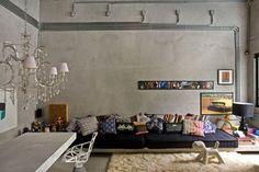 Almofadas diferentes na decoração da sua casa