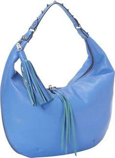 Rebecca Minkoff Bailey Convertible Hobo Shoulder Bag Twilight Sky - via eBags.com!