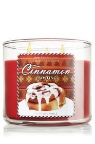 Cinnamon Frosting 14.5 oz. 3-Wick Candle - Slatkin & Co. - Bath & Body Works