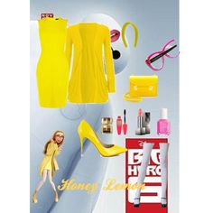 Honey Lemon. Big Hero 6. Inspired Outfit