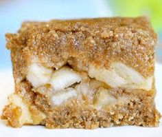 Apple Crumble Bars.