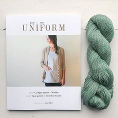 Just arrived - UNIFORM knit & sew from Madder and Grainline Studios. This beautifully photographed book contains the cover cardigan pattern in two weights and several adaptations as well as the pattern for the tunic also with fitting options. This is on the shelves and on the website now. . . . #bookcollection #knittingandsewing #uniformknitandsew #ayarnstory #madder #grainlinestudio #memadewardrobe #everydaypieces #makersmovement #slowfashion…