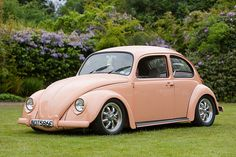 pink bug...maybe for my 40th!!!  A girl can dream, right?!?  Maybe for Fayth when she's Sweet 16!!!