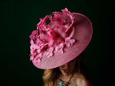 Pink Passion Kentucky Derby Hat 2014. To see the source оf this item click on the picture. Please also visit my Etsy shop LarisaBоutique: https://www.etsy.com/shop/LarisaBoutique Thanks!