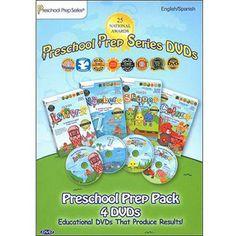 Preschool Prep Series Pack: Meet The Letters / Meet The Numbers / Meet The Shapes / Meet The Colors (Full Frame)