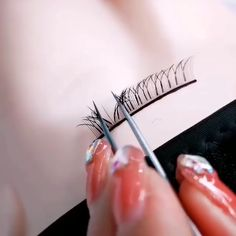 YY Shape Eyelash Extensions - New Ideas Eyelash Extensions Salons, Bare Minerals Makeup, Perfect Eyelashes, Eyelash Technician, Eyelash Extension Supplies, Makeup At Home, Cosmetics Market, Lash Room, Makeup Items