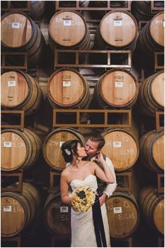 Wilson Creek Winery wedding in Temecula, CA. A winter winery wedding! || Photography by Shelly Anderson Photography || www.shellyandersonphotography.com